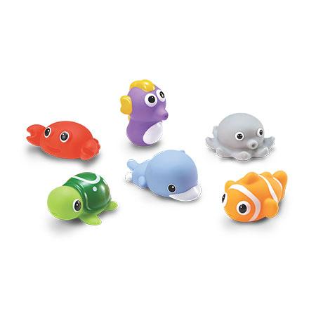 水中玩具-海洋動物組