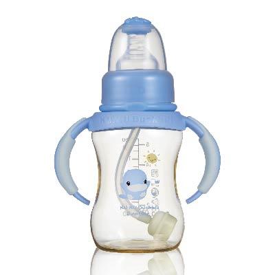 新防脹氣PES標準葫蘆成長奶瓶150ml