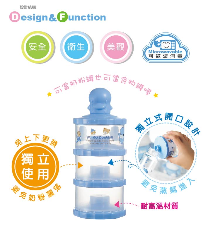 proimages/bottles_accessories/MilkPowderContainer/5417/KU5417-酷咕鴨獨立式副食品奶粉罐1.jpg
