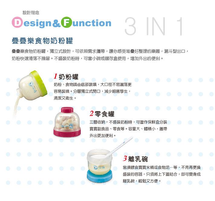 proimages/bottles_accessories/MilkPowderContainer/5465/KU5465-酷咕鴨疊疊樂食物奶粉罐-2.jpg