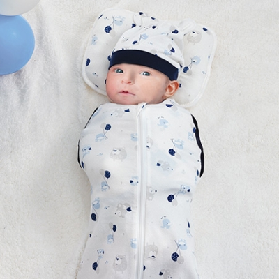 超好眠成長包巾