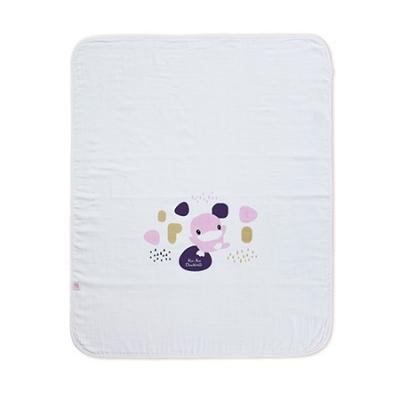 成長印記紗布大浴巾