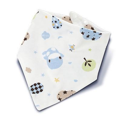 星星雲雙面三角領巾