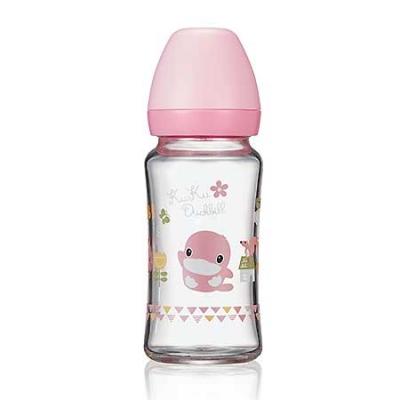 寬口玻璃奶瓶-240ml