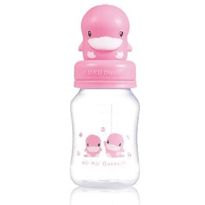 晶鑽PP寬口造型蓋奶瓶-240ml