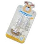 防脹氣標準十字奶嘴6入-L