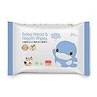 Baby Hand & Mouth Wipes-20pcs
