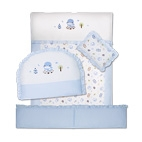 7-Piece Crib Bedding Set -Starry Sky