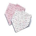 星星花雙面三角領巾