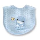 嬰兒黏扣中圍兜