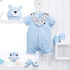 TK熊短兔裝禮盒