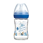 The Dream of You Glass Wide-Nick feeding bottle-150ml (Dark Blue)