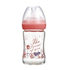 The Dream of You Glass Wide-Nick feeding bottle-150ml (Pink)
