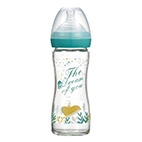 The Dream of You Glass Wide-Nick feeding bottle-240ml (Green)