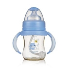 PES Gourd Shaped Wide-Neck Anti-Colic Bottle with Handle-140ml